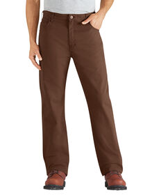 Regular Fit Straight Leg 6-Pocket Duck Jean - RINSED TIMBER (RTB)