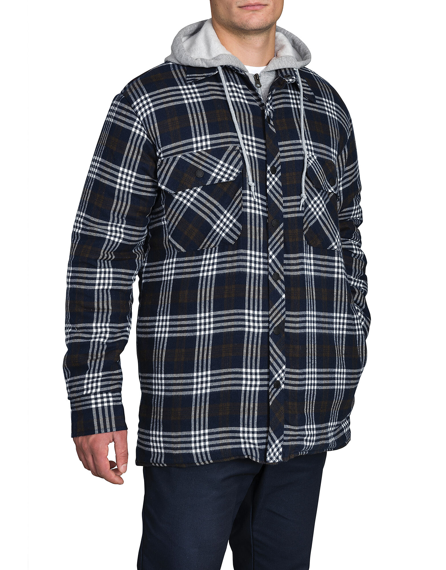 Faux Fleece Quilted Shirt Dickies Canada