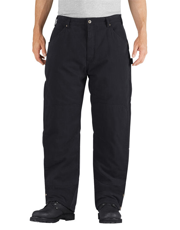 Sanded Duck Insulated Pant - RINSED BLACK (RBK)