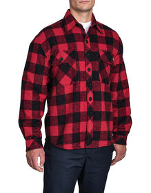 Doe Skin Shirt - RED PLAID CANADA F14M801 (CPBE (R47)