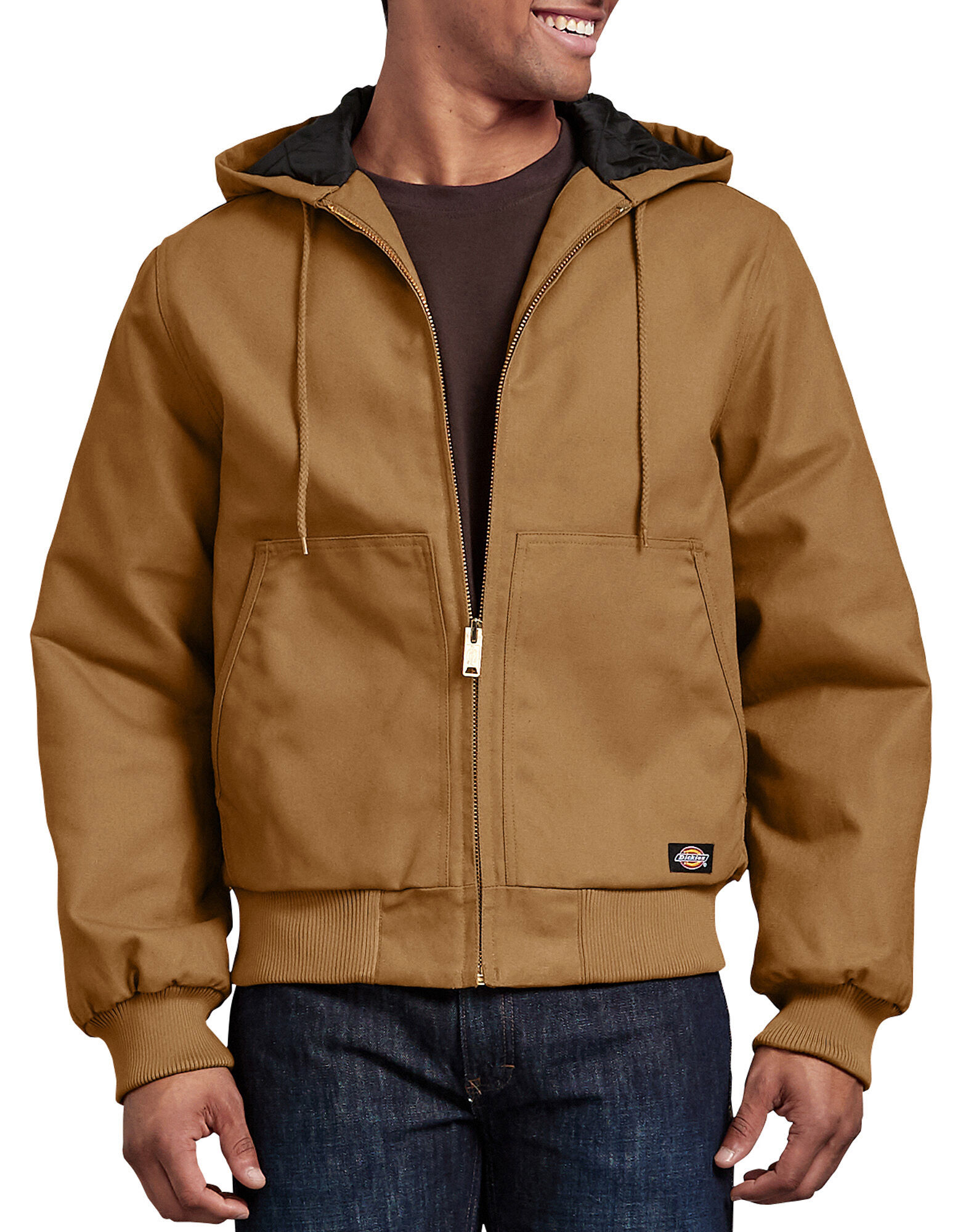Rigid Duck Hooded Jacket | Mens Outerwear | Dickies