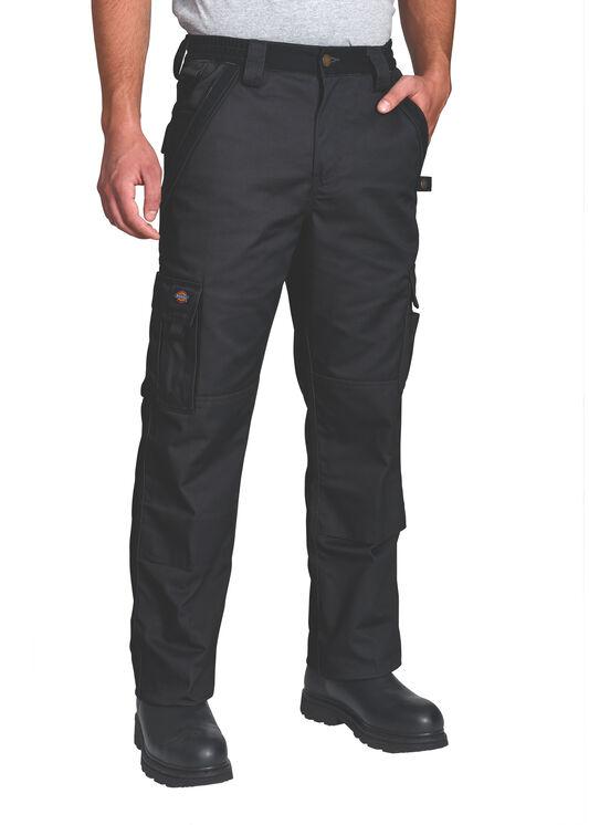 Pantalon de qualité supérieure à plusieurs poches - Noir (BK)