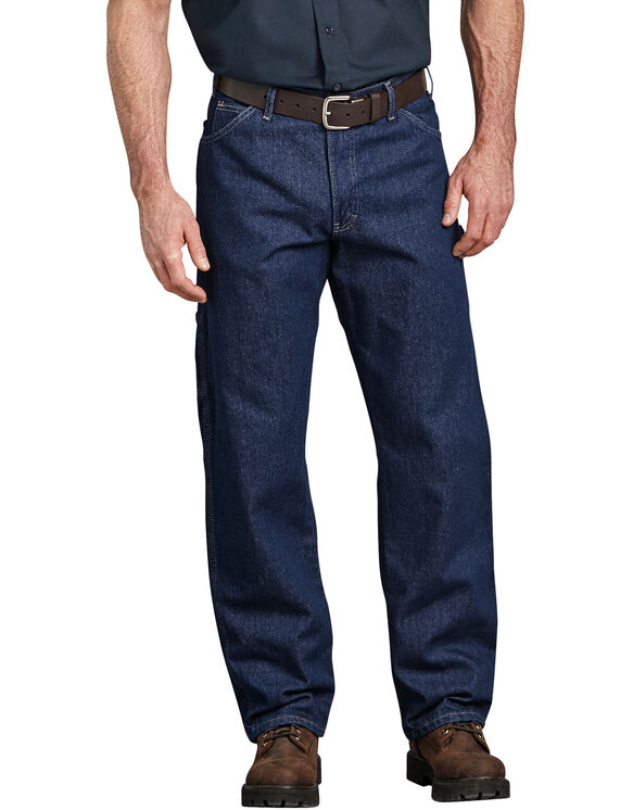 Industrial Carpenter Denim Jean - RINSED INDIGO BLUE (RNB)