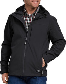 Performance Waterproof Breathable Jacket with Hood - BLACK (BK)