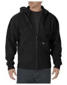 Midweight Fleece Full Zip Hoodie - BLACK (BK)