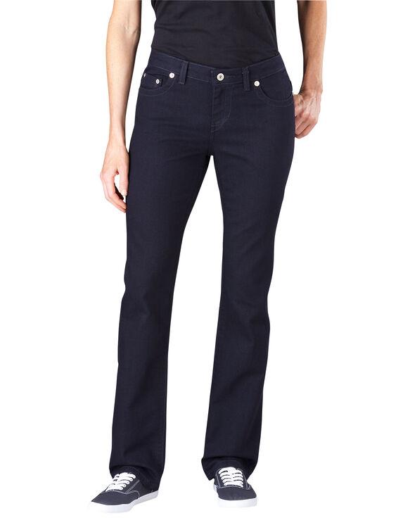 Women's Slim Straight Leg Denim Jean - VINTAGE DARK 1 (VND1)