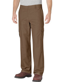 Relaxed Fit Straight Leg Ripstop Cargo Pant - RINSED TIMBER (RTB)