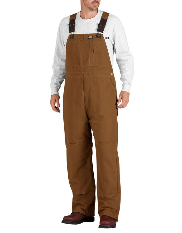 Sanded Duck Bib Overall - BROWN DUCK (BD)