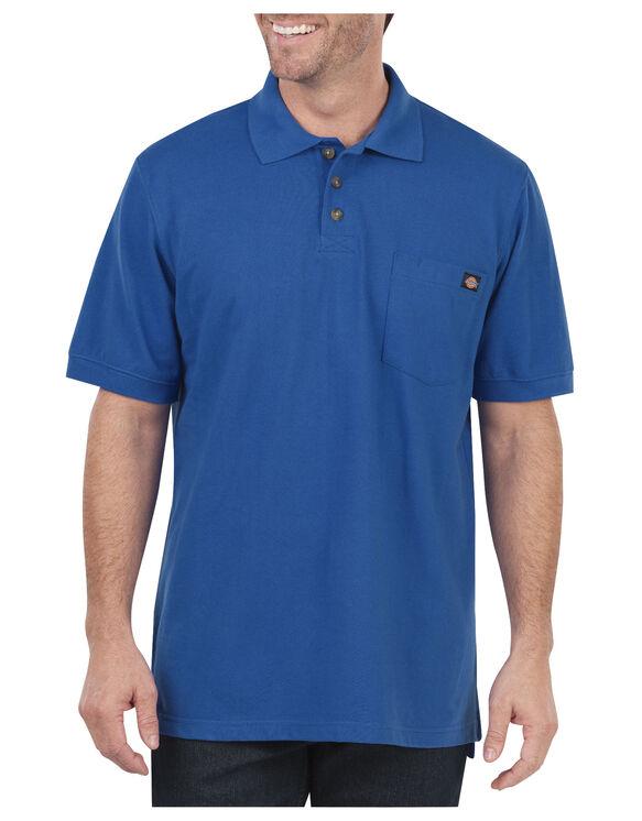 Polo à manches courtes performance - Bleu royal (RB)