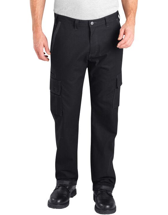 Pantalon cargo avec gousset à l'entre jambe Dickies Pro - Noir (BK)