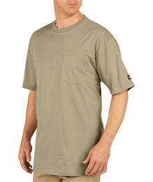 Short Sleeve Pocket 2 Pack T-Shirts - DESERT SAND (DS)