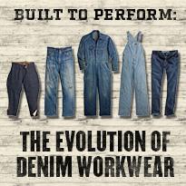 Evolution of Denim Workwear