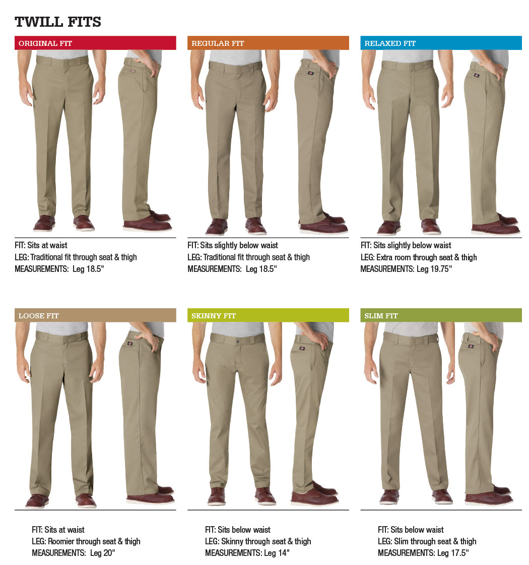 Mens Twill Pants