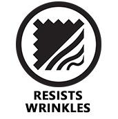 Resists Wrinkles