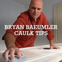Caulking Tips