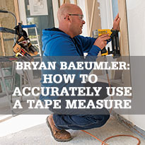 How to Accurately Use a Tape Measure