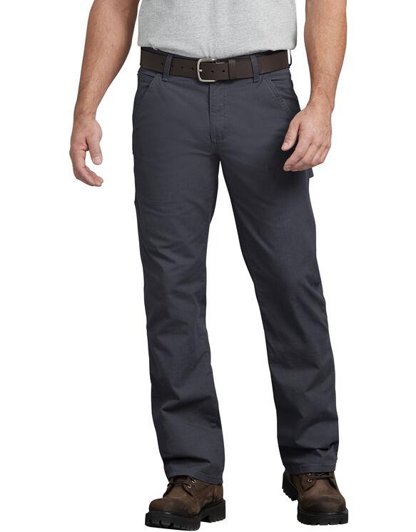 FLEX Regular Fit Straight Leg Tough Max™ Ripstop Carpenter Pants - Diesel Gray (RYG)