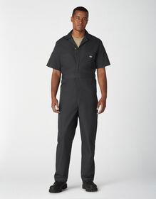 Short Sleeve Coveralls - Black (BK)