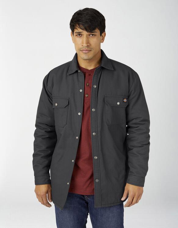 Veste-chemise en coutil doublée de flanelle avec traitement Hydroshield - Black (BK)