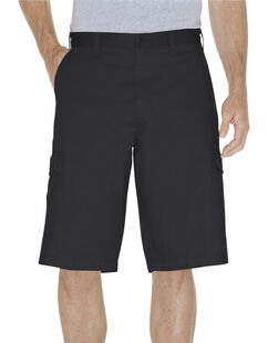 """13"""" Loose Fit Cargo Shorts - Rinsed Black (RBK)"""