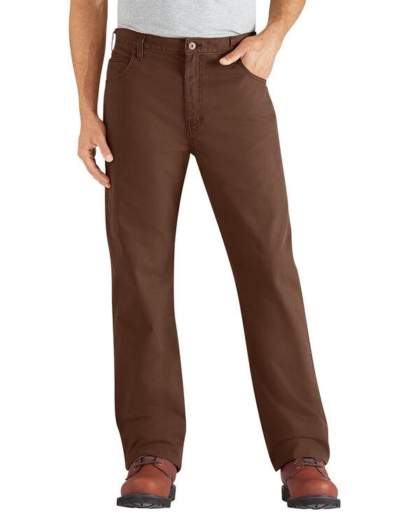 Pantalon en coutil à 6 poches - Bois rincé (RTB)