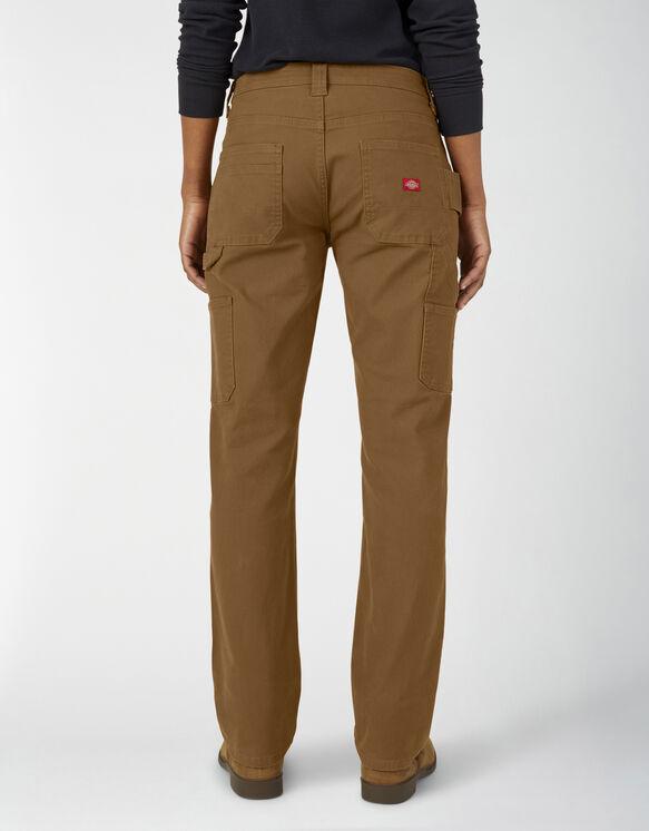 Pantalon menuisier en coutil pour femmes - Brown Duck (RBD)