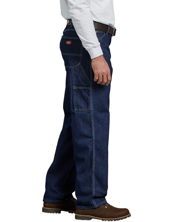 Relaxed Fit Carpenter Denim Jeans - Rinsed Indigo Blue (RNB)