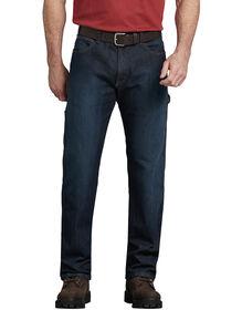 FLEX Relaxed Fit Straight Leg 5-Pocket Carpenter Tough Max™ Denim Jeans - Dark Blue Wash (TDW)