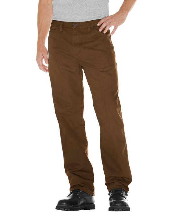 Pantalon de menuisier en coutil - Timber Brown (RTB)