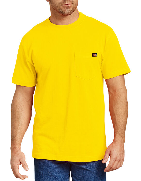 Short Sleeve Heavyweight T-Shirt - Bright Yellow (BWD)