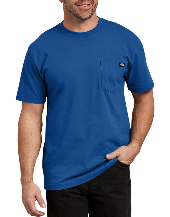 Short Sleeve Heavyweight Crew Neck Tee - Royal Blue (RB)