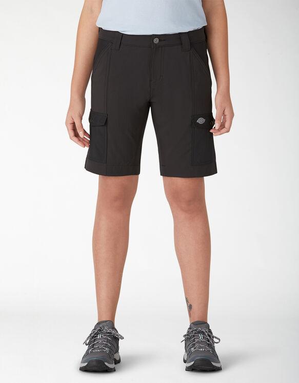 Short cargo taille plus Temp-iQ™ pour femmes - Black (BK)