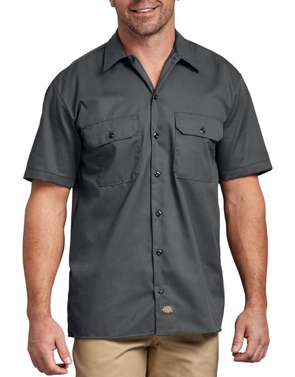 Short Sleeve Work Shirt - Charcoal Gray (CH)