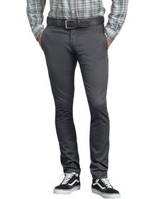 FLEX Skinny Straight Fit Work Pants - Charcoal Gray (CH)