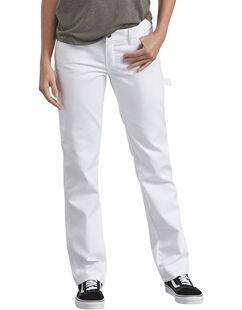 Women's Premium Painter's Utility Pants - White (WH)
