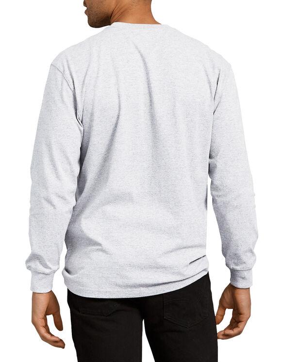 T-shirt épais ras du cou à manches longues - Ash Gray (AG)