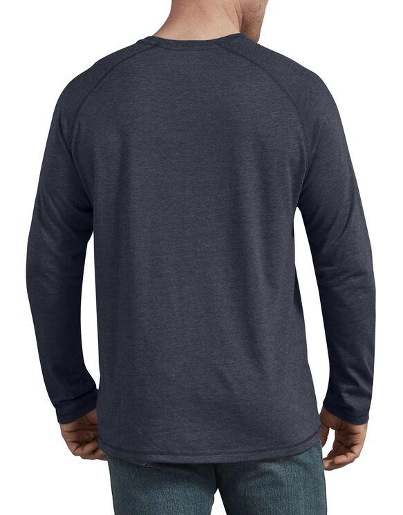 T-shirt à manches longues Temp-iQ® performant - Dark Navy Heather (DNH)
