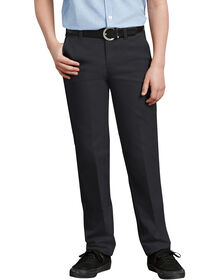 Boys' FlexWaist®  Slim Fit Straight Leg Ultimate Khaki Pants, 8-20 - Black (BK)