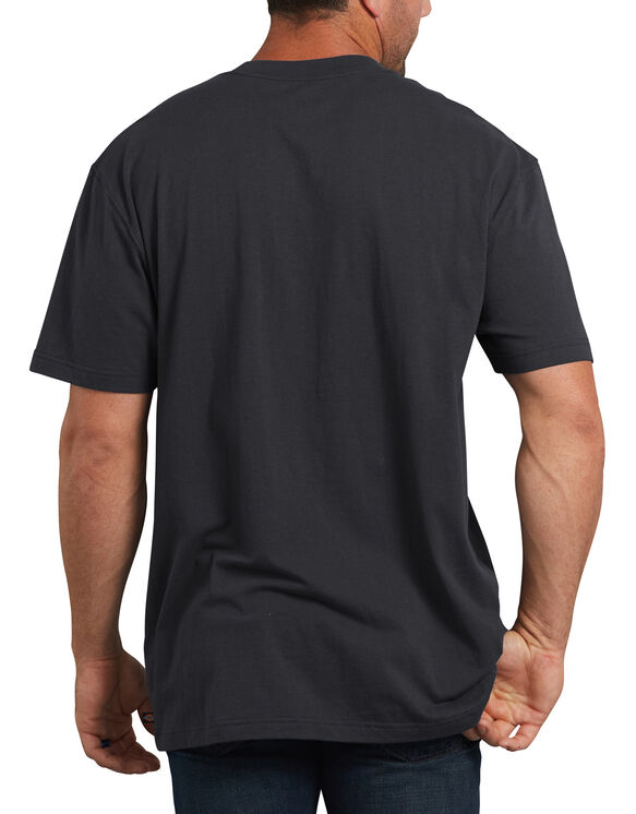 Short Sleeve Relaxed Fit Icon Graphic T-Shirt - Black (ABK)