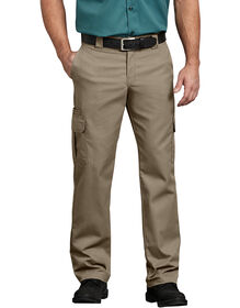 Flex Regular Fit Straight Leg Cargo Pant - Desert Khaki (DS)
