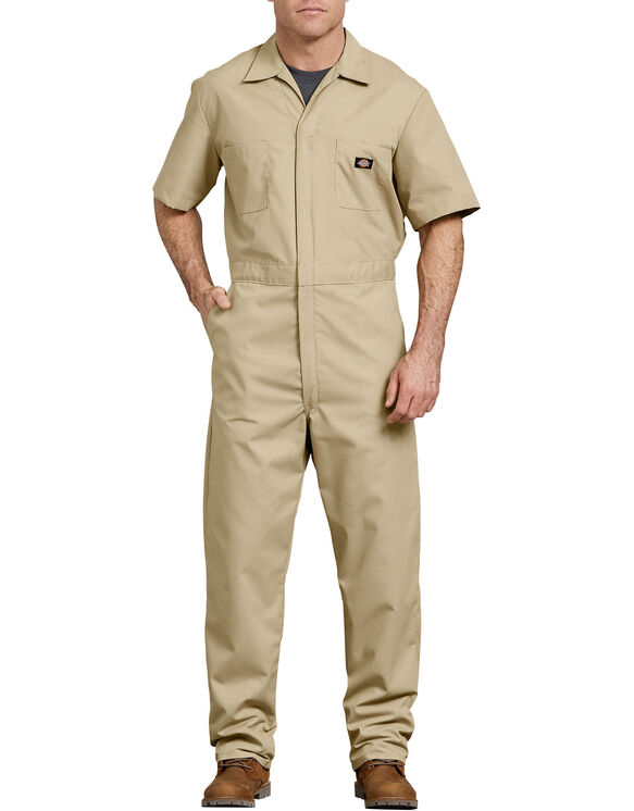 Short  Sleeve  Coverall  - Military Khaki (KH)