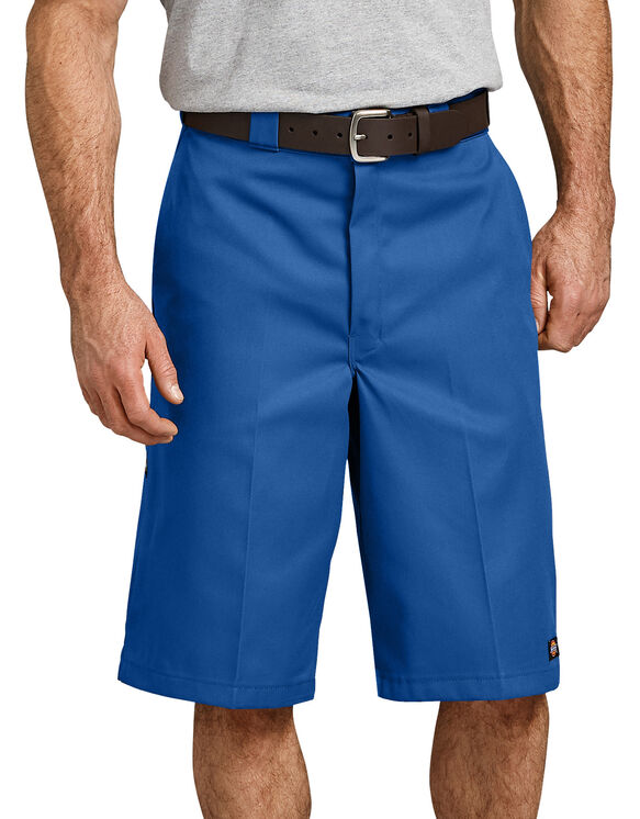 "13"" Loose Fit Multi-Use Pocket Work Short - Royal Blue (RB)"