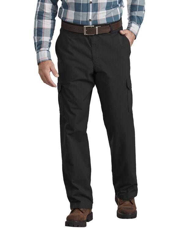 Pantalon cargo antidéchirure Tough Max de coupe standard - Noir rincé (RBK)