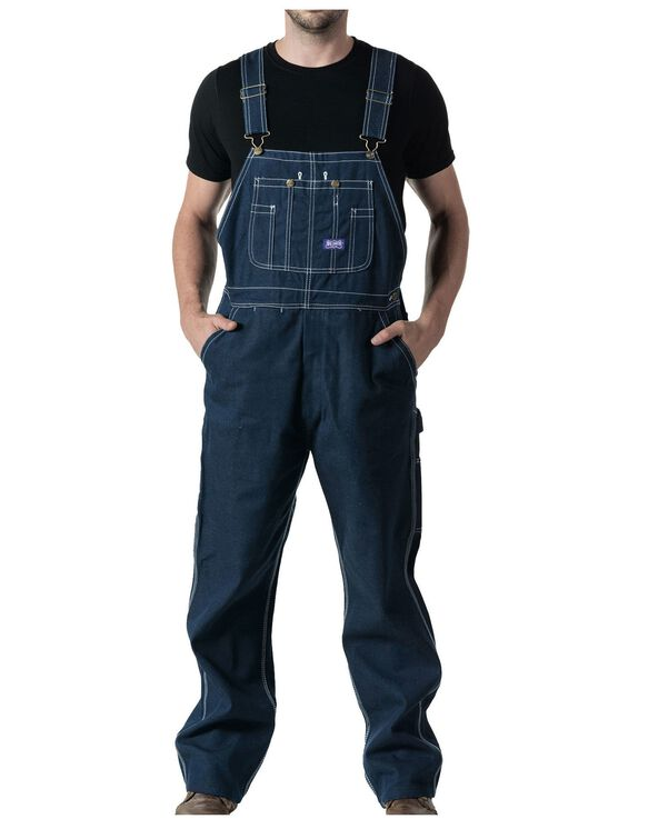 Big Smith® Rigid Denim Bib Overalls - DENIM (DB9)