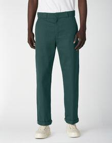 Pantalon à revers de coupe standard - Forest Green (FT)