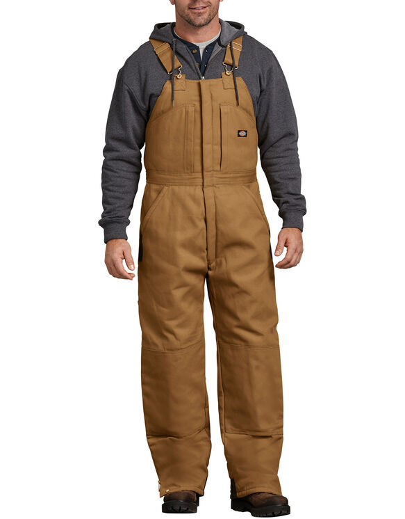 Duck Insulated Bib Overall - Brown Duck (BD)