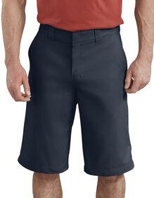 "13"" FLEX Temp-iQ® Active Waist Flat Front Shorts - Dark Navy (DN)"
