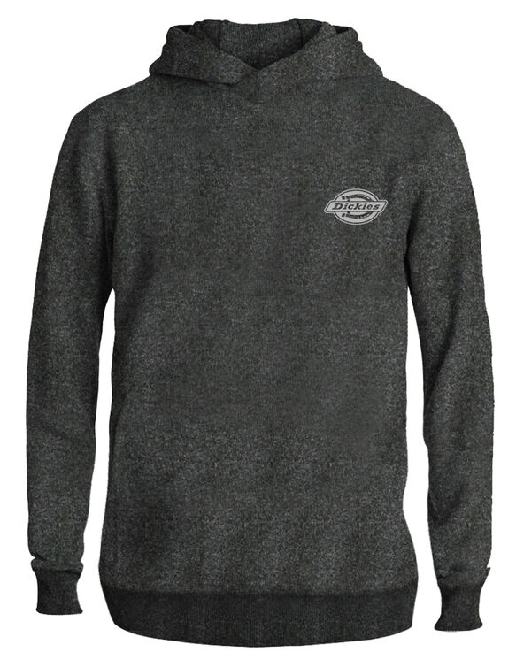Men's pullover hoodie embroidery Dickies logo - Charcoal Gray (CH)