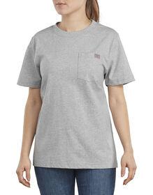 T-shirt épais pour femmes - Gris bruyère (HG)