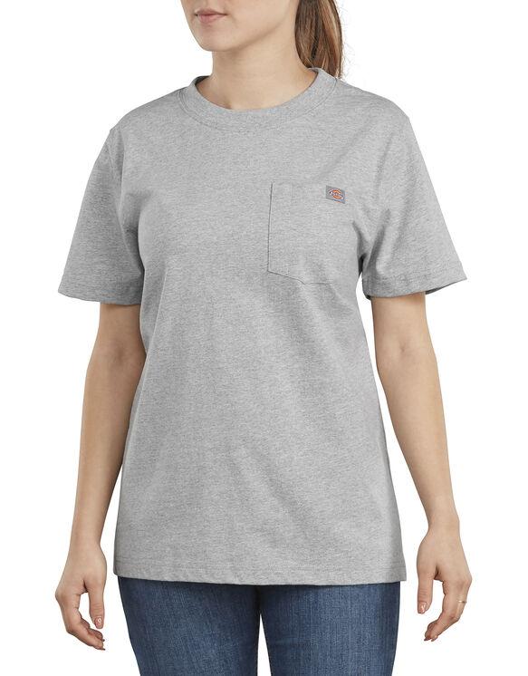 Women's Short Sleeve Heavyweight T-Shirt - Heather Gray (HG)